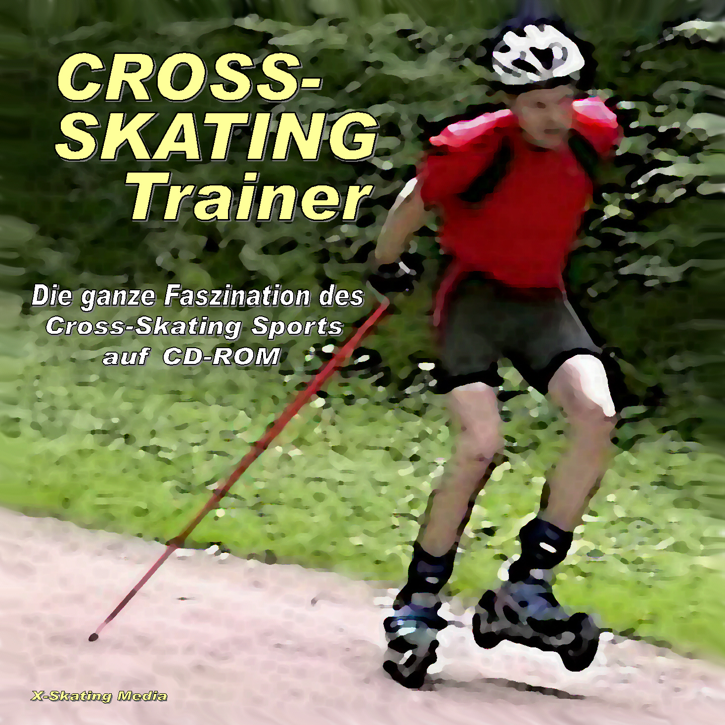CD-ROM Cross-Skating Trainer im Cross-Skate-Shop